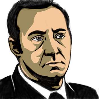 Portrait of Kevin Spacey